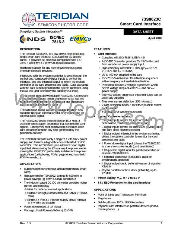 73S8023C-IMR/F