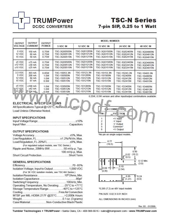 TSC-1D4812N