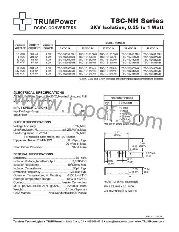 TSC-1D4805NH