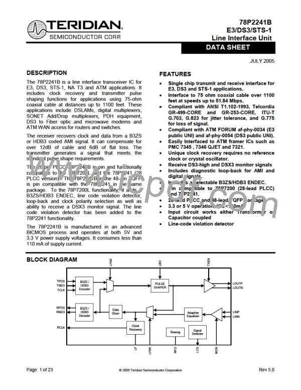 78P2241B-IGT/F